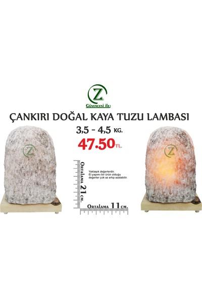 Çankırı İthal Çankırı Tuz Lambası 3,5 Kg - 4,5 Kg Arası - Doğal Tuz Lambası