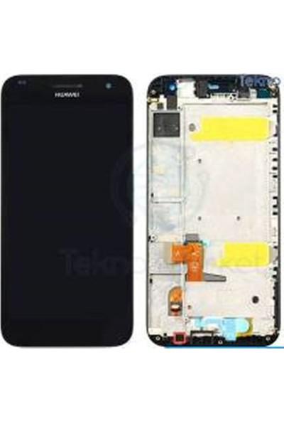 Cekokenomik Huawei G7 Full Lcd+Dokunmatik+Ön Panel Komple Ekran