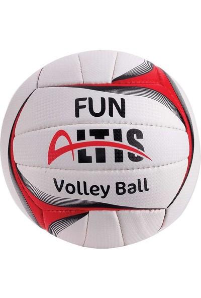 Altis No5 Red-Black Fun Voleybol Topu