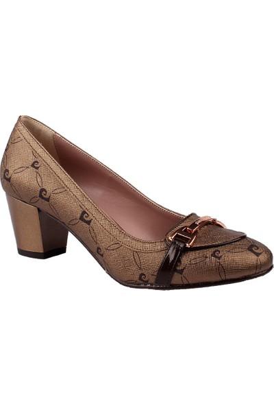Pierre Cardin Bronz Topuklu Bayan Ayakkabısı 63111