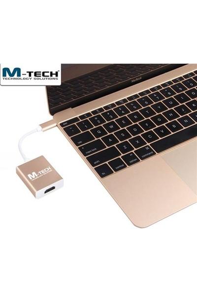 M-Tech Muchc0053 Usb 3.1 Type-C To Hdmı Dönüştürücü Adaptör