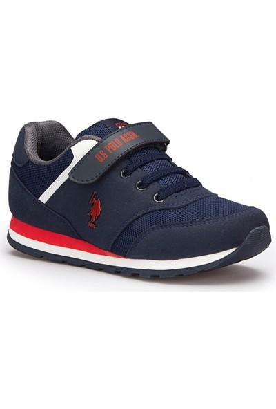 U.S. Polo Assn. Micro Lacivert Unisex Çocuk Sneaker Ayakkabı