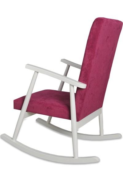 Asedia Teksas Lake Beyaz Fuşya Sallanan Sandalye