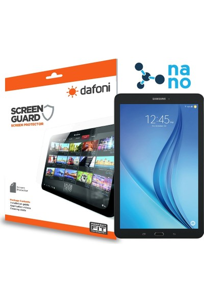 Dafoni Samsung T560 Galaxy Tab E Nano Glass Premium Tablet Cam Ekran Koruyucu