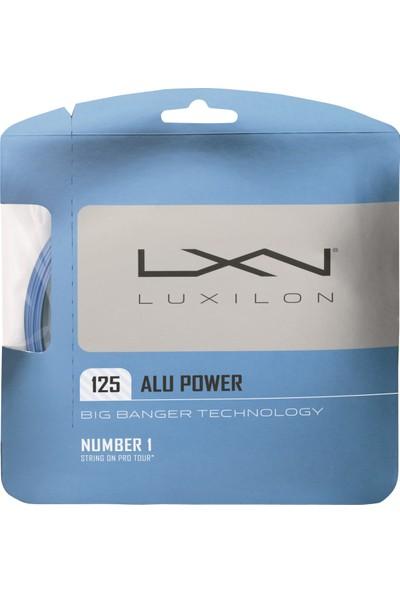 Luxilon Kordaj Alu Power 125 String İce Blue ( WRZ995100BL )