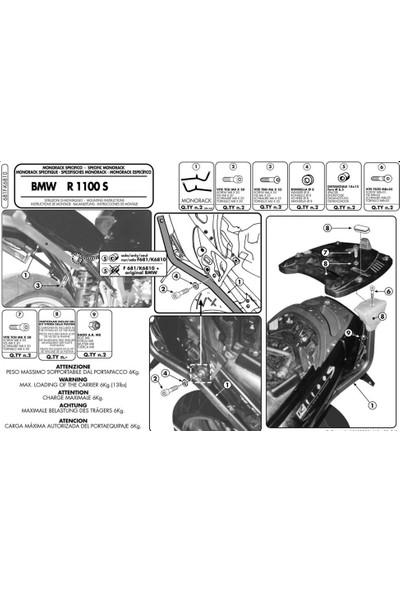 Gıvı 681f Bmw R 1100 S (98-06) Arka Çanta Taşıyıcı