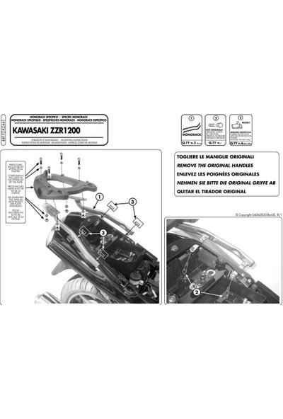 Gıvı 441fz Kawasakı Zzr 1200 (02-05) Arka Çanta Taşıyıcı
