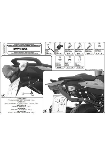 Gıvı 687fz Bmw F 800 S (06-16) Arka Çanta Taşıyıcı