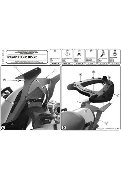 Gıvı Sr225 Trıumph Tıger 1050 (07-12) Arka Çanta Taşıyıcı