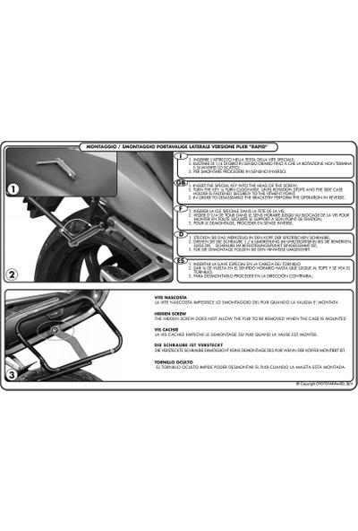 Gıvı Plr692 Bmw K 1200s (05-08) - K 1300s (09-15) Yan Çanta Taşıyıcı