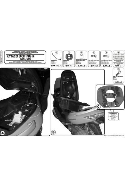 Gıvı Sr91m Kymco Xcıtıng R 300ı-500ı (09-14) Arka Çanta Taşıyıcı