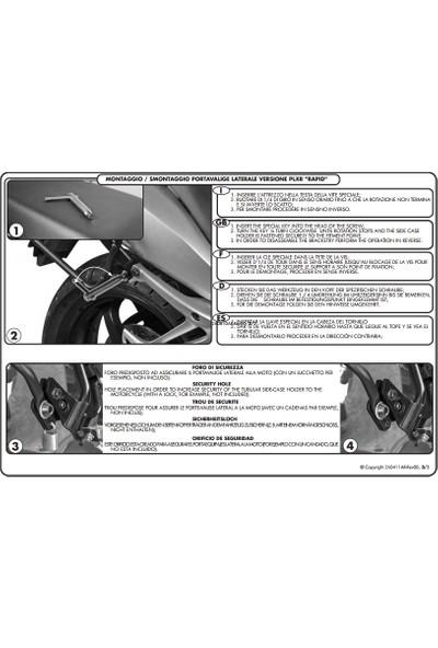 Gıvı Plxr4100 Kawasakı Z 1000 Sx (11-16) Yan Çanta Taşıyıcı