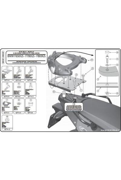 Gıvı Sr5107 Bmw F 650-700-800 Gs - Adventure (08-16) Arka Çanta Taşıyıcı
