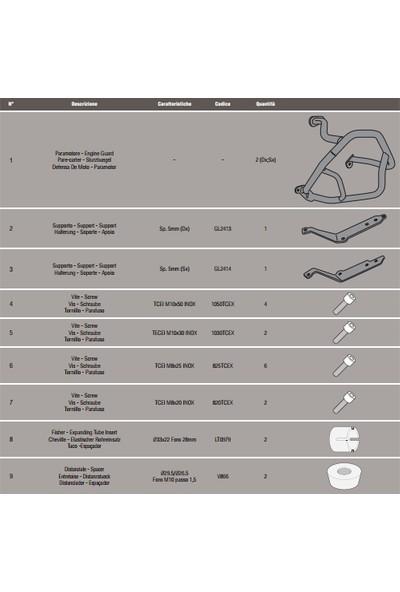 Gıvı Tn5108 Bmw R1200gs (13-16) - R1200r-R1200rs (15-16) Koruma Demiri