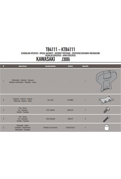Gıvı Tb4111 Kawasakı J300 (14-16) Sıssybar