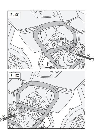 Gıvı Tn3105 Suzukı Dl 1000 V-Strom (14-16) Koruma Demiri