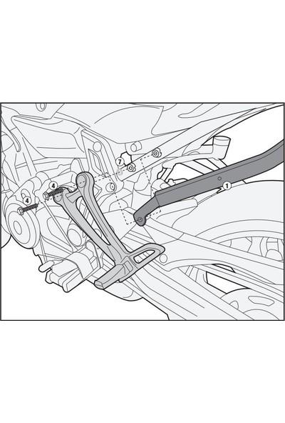 Gıvı 2118fz Yamaha Mt-07 (14-17) Arka Çanta Taşıyıcı