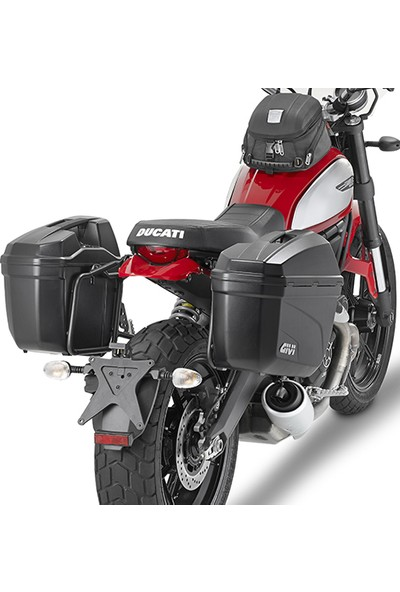Gıvı Pl7407 Ducatı Scrambler 800 (15-16) Yan Çanta Taşıyıcı