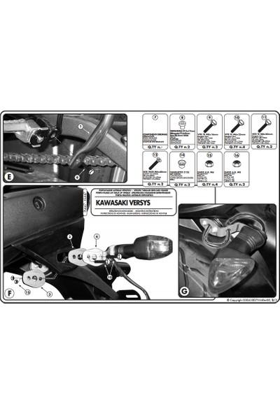 Kappa Kl447 Kawasakı Versys 650 (06-09) Yan Çanta Taşıyıcı