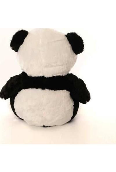 Peluşcu Baba 55 cm Kalpli Panda Peluş Oyuncak Yumuşacık Sağlıklı