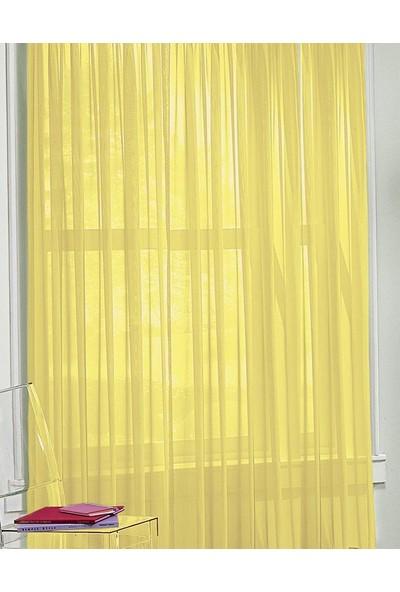 Aisha Home Tül Perde Sarı 300 x 260