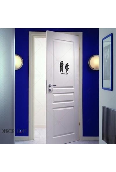 Dekorloft Tuvalet Sticker Wc-1518