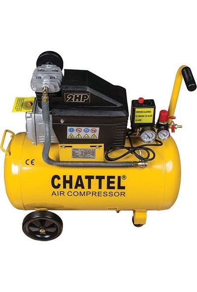 Chattel 50 Litre Hava Kompresörü 2Hp