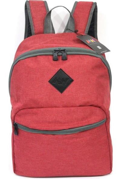 """M&W Work & Sport SRT-K1 15.6"""" Kırmızı Laptop & Tablet Sırt Çantası"""