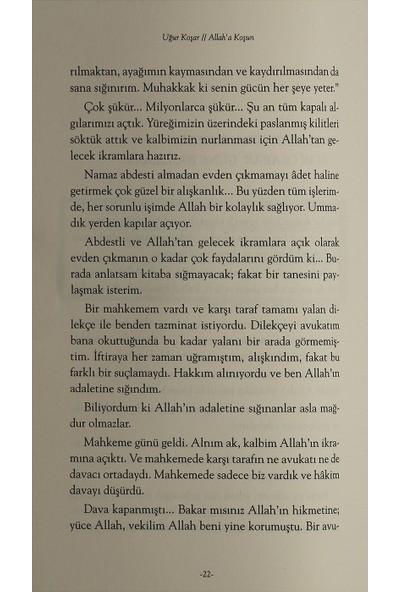 Allah'a Koşun - Uğur Koşar