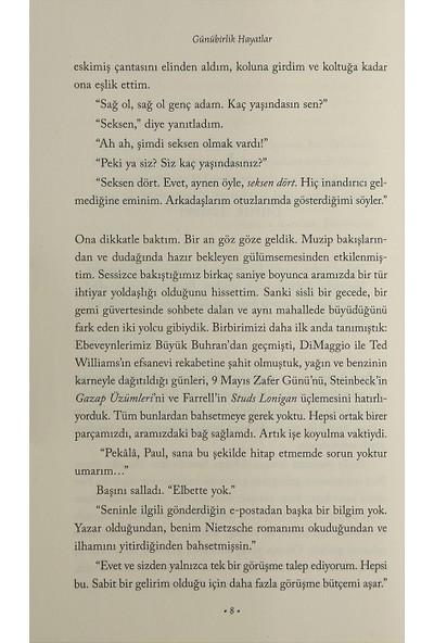 Günübirlik Hayatlar - Irvin D. Yalom