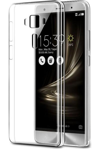 Eiroo Asus ZenFone 3 ZE552KL Şeffaf Kristal Kılıf
