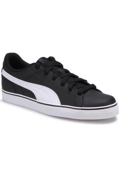 Puma Court Poınt Vulc V2 Siyah Beyaz Erkek Sneaker Ayakkabı
