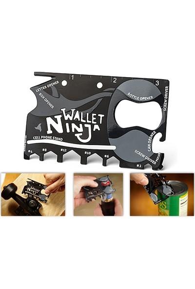 Toptancı Kapında Ninja Wallet 18 in 1 Multi Tool Kit