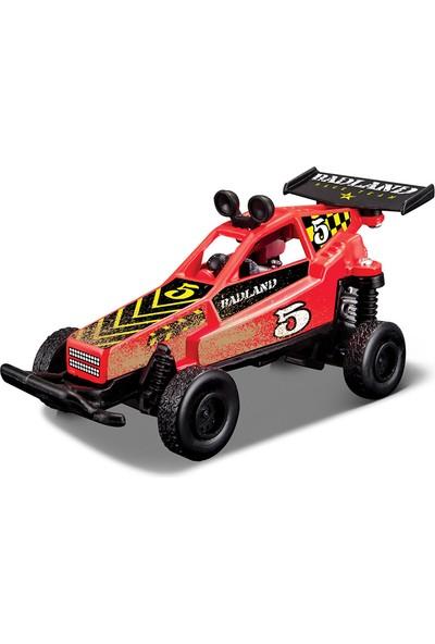 Maisto Fresh Metal Badland Racers Kırmızı 5 Oyuncak Araba