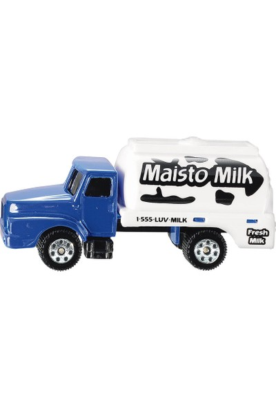 Maisto Milk Truck Oyuncak Araba 7 cm
