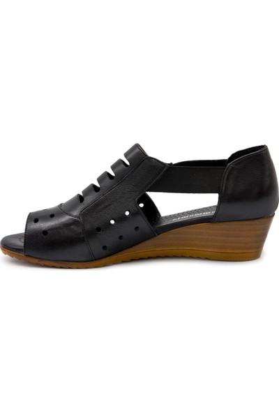 Mammamıa D17Ys1720 Siyah Terlik-Sandalet