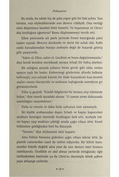 Psikiyatrist - Wulf Dorn