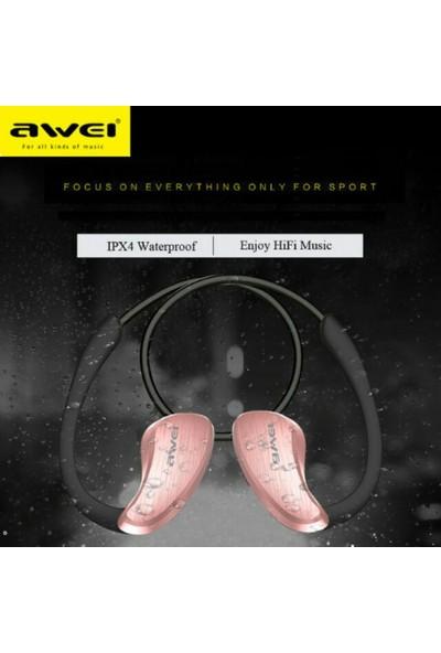 Awei Sport Bluetooth Kulaklık (Suya Dayanıklı) A885BL - Rose Gold