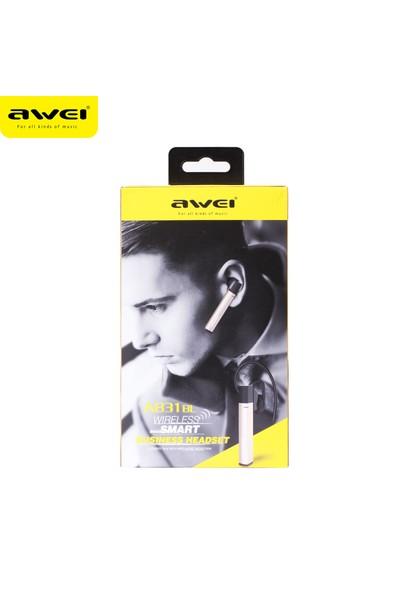 Awei Mono Bluetooth Kulaklık A831BL - Iron Gray