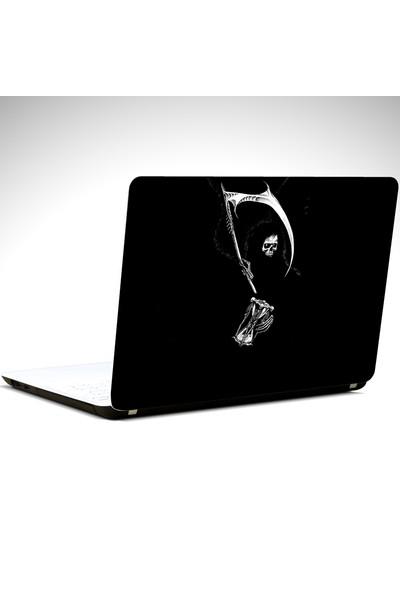 Dekolata İskelet Laptop Sticker