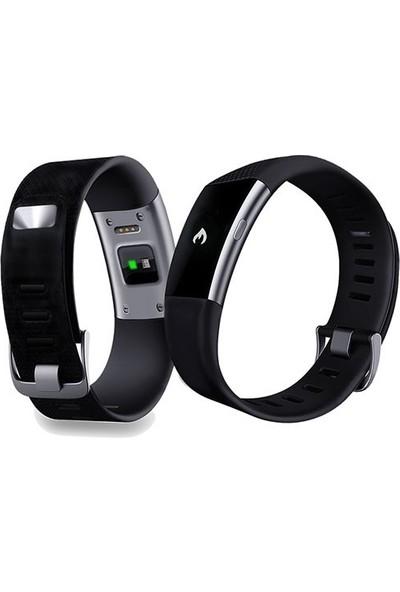 Everest FIT MATE W27 Bluetooth Smart Bileklik Siyah Akıllı Saat