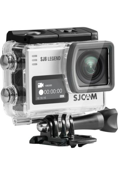 SJCAM SJ6 Legend 4K Aksiyon Kamerası - Gümüş