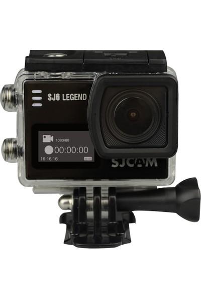 SJCAM SJ6 Legend 4K Aksiyon Kamerası - Siyah