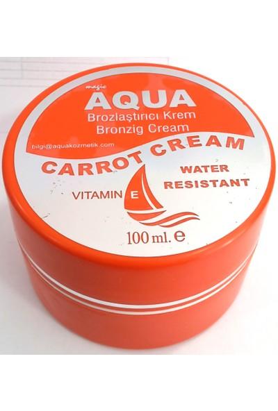 Aqua Sun Carrot Bronzlaştırıcı Krem
