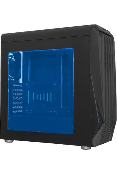 Gamemax FC-9050G Şeffaf Pencereli Oyuncu Kasa (Powersiz)