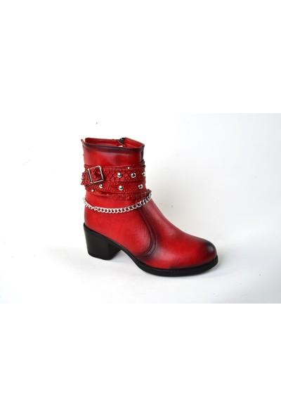 Aceka Zn 120 Bayan Bot Ayakkabı