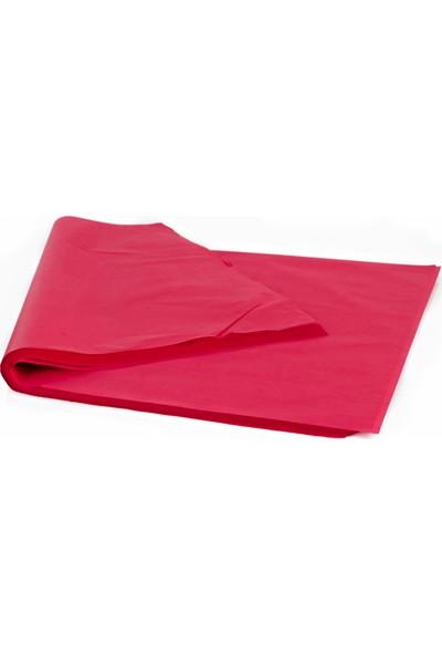 Menteşoğlu Kağıtçılık Kırmızı Pelür Süs Kağıdı (1kg)