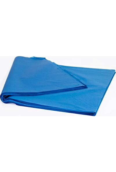 Menteşoğlu Kağıtçılık Mavi Pelür Süs Kağıdı (1kg)