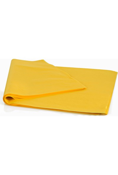 Menteşoğlu Kağıtçılık Sarı Pelür Süs Kağıdı (1kg)