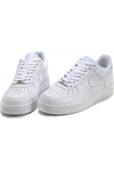 Nike Air Force 107 315122 III Unisex Spor Ayakkabı Beyaz